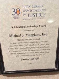 NJAJ Leadership Award
