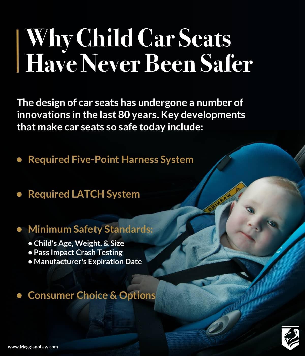 Advances in Car Seat Safety | Maggiano, DiGirolamo and Lizzi