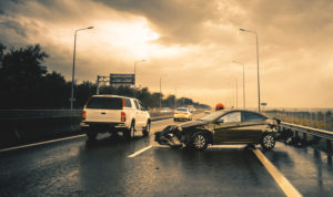 ejection and overturns in crashes occurring on highways