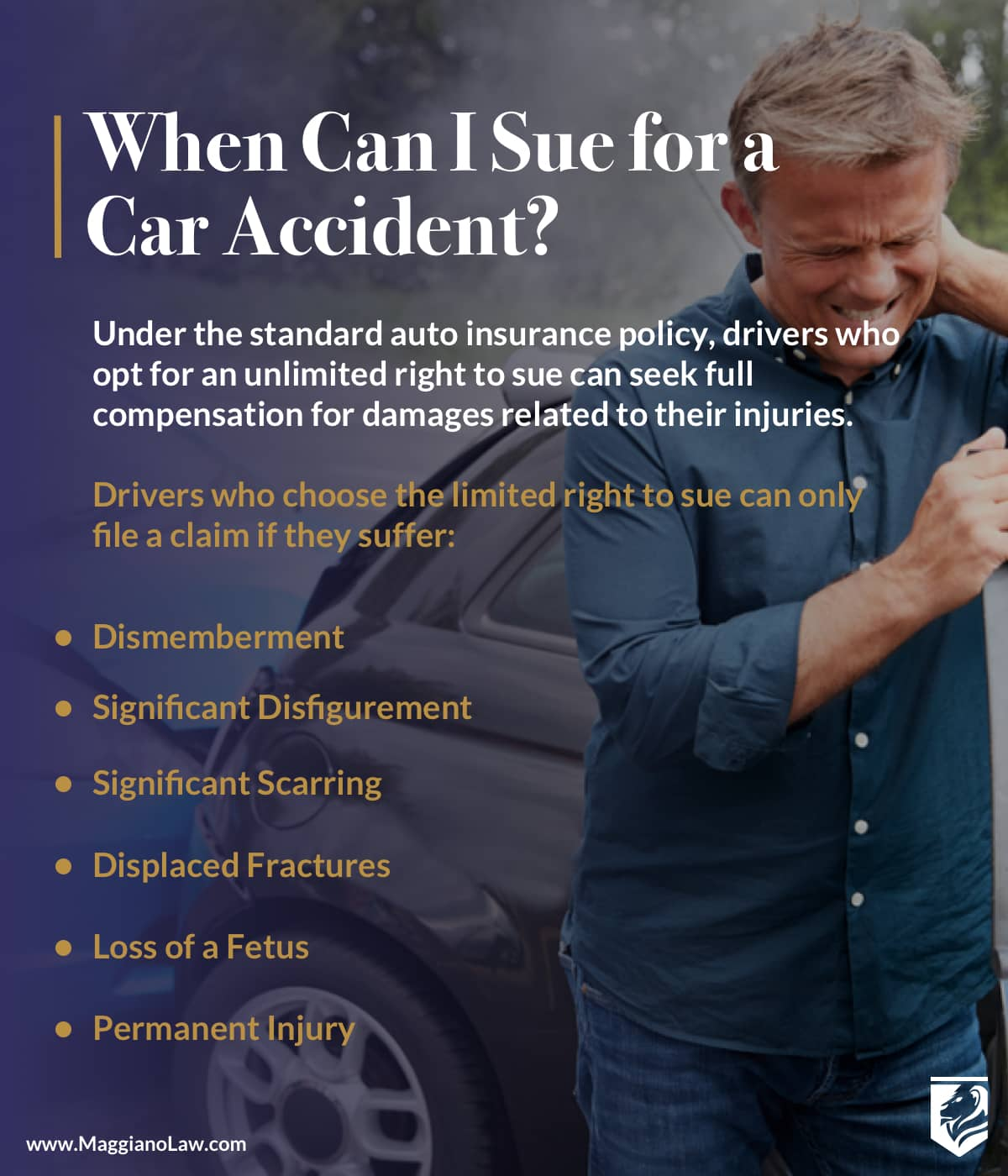 When Can I Sue for a Car Accident? | Maggiano, DiGirolamo and Lizzi